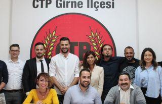 CTP Gençlik Örgütü Girne ilçesi başkanı Sadi...