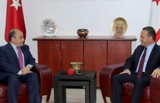 Başçeri Tarım Bakanı Şahali'yi ziyaret etti