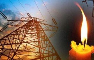 Lapta bölgesinde elektrik kesintisi