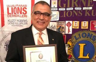 Günkut'a 'Hizmet Gönüllüsü Ödülü'