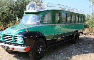 Tarihi otobüsler yeniden yollarda