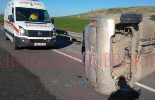 Ölüm virajı olarak bilinen yolda kaza
