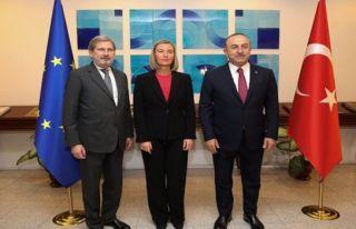 Ankara'da AB-Türkiye toplantısı