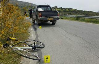 Pelatusa'da ölümlü bisiklet kazası