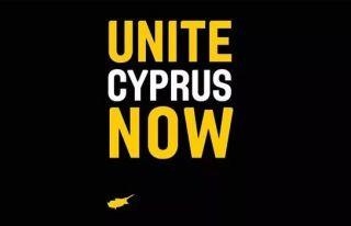 UniteCyprusNow'dan bölünmüşlüğe karşı eylem...