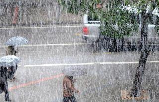 En fazla yağış Kırıkkale'ye düştü
