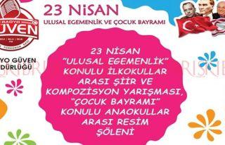 Radyo Güven, '23 Nisan Ulusal Egemenlik' konulu yarışma...