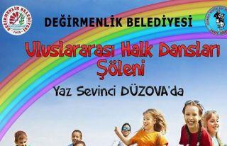 Uluslararası Yaz Sevinci Çocuk Şenliği gerçekleşiyor