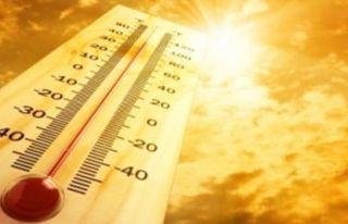Hava sıcaklığı 39-42 derece dolaylarında