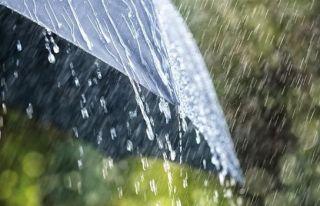 En çok yağış Tatlısu'ya düştü