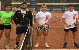 Teniste ilk maçlar oynandı
