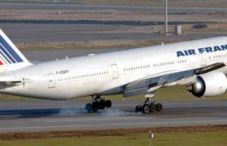 Air France, Paris-İstanbul uçuşlarını durduruyor