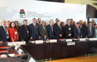 TDP, Sosyalist Enternasyonal Akdeniz Komitesi toplantısına...