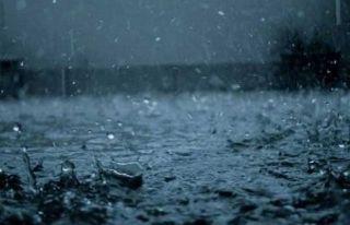 Yeşilırmak'a 10 kilogram yağış düştü
