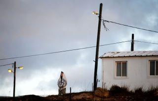 Yasadışı Amona yerleşimi boşaltılıyor