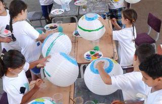 Çocukların eserleri sergilenecek