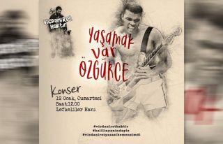 Müzisyenlerden Karapaşaoğlu için dayanışma konseri