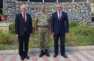 Meclis Başkan Vekili Töre, Ktka'yı ziyaret etti
