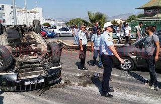 Korkutan kaza: Bir yaralı