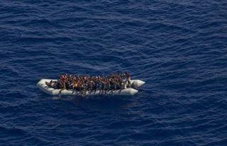 Düzensiz göçmenler Laçi Sahilinde tespit edildi