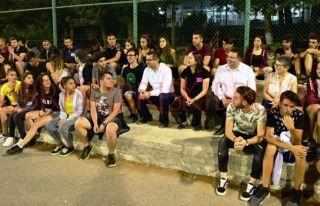 Erhürman Kantara Yaz Kampı'nı ziyaret etti