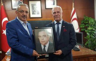 Töre Türkiye'den gelen Diyanet-Sen heyetini kabul...