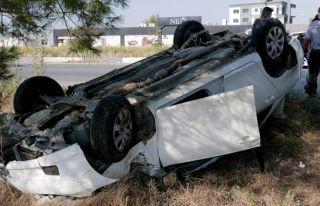 Girne-Lefkoşa yolunda kaza: Bir yaralı