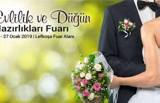 Evlilik ve Düğün Hazırlıkları Fuarı 24-27 Ocak'ta
