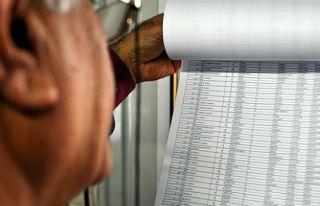 Sandık seçmen listeleri askıya alındı