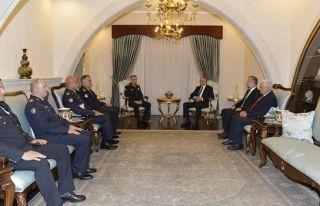 Cumhurbaşkanı Akıncı, Manavoğlu'nu kabul etti
