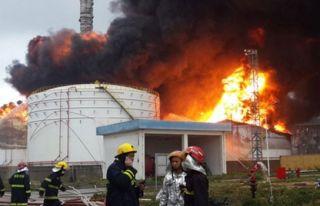 Rusya'da kimya fabrikasında patlama