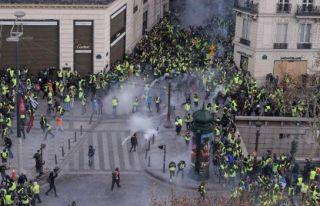 Fransa'daki protestoslar devam ediyor