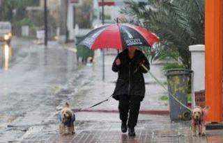 Perşembeye kadar yer yer yağmur bekleniyor