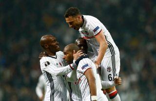 Beşiktaş çeyrek finalde: 4-1