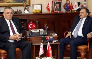 Eroğlu: Tünel projesi ile sulama hatları eş zamanlı...