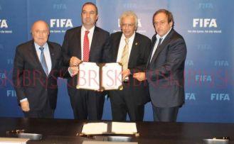 FIFA topu KOP'a attı!