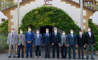 Cumhurbaşkanı Tatar Din İşleri Başkanlığı ve İlçe Temsilciliği yönetimini kabul etti
