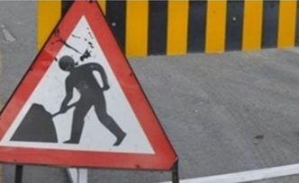 Haspolat kavşağı üst geçit çalışması nedeniyle trafiğe kapatılacak