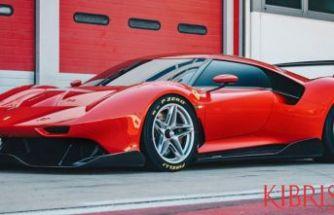"""Ferrari """"özel projesi"""" P80/C'yi tanıttı"""