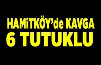 Hamitköy'de kavga... Bir kişinin burnu kırıldı