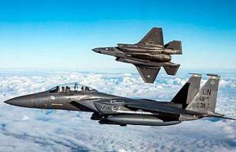 İngiliz F-35'leri dün Ağrotur üssüne indi