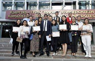 Kırgızistan'da Türkçe eğitimine yoğun ilgi