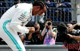 Monaco'da pole pozisyonu Hamilton'ın
