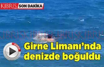 SON DAKİKA: Girne'de denizde boğulma