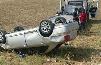 6 günde 56 trafik kazası, zarar 305 bin TL.