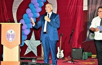 Çavuşoğlu, 20 Temmuz Fen Lisesi mezuniyet törenine katıldı