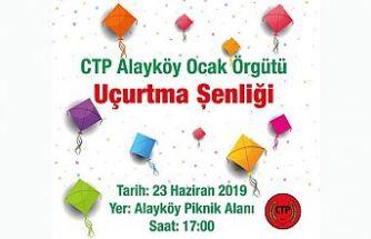 Ctp, Alayköy'de uçurtma şenliği düzenliyor