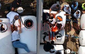 SON DAKİKA: Apartmandan düşen kadın ağır yaralandı