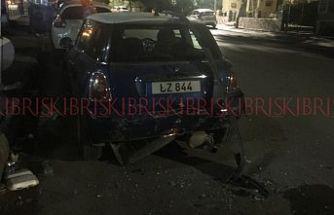 Bu sabah saat 01.20!.. '250 promil' alkollü sürücü çarptı, kaçtı