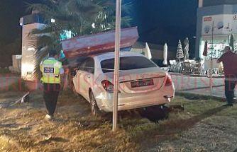 2 araç çarpıştı, 2 kişi yaralandı